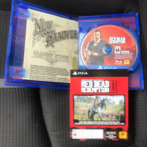 Red Dead Redemption 2 (PS4) -- Mint Condition