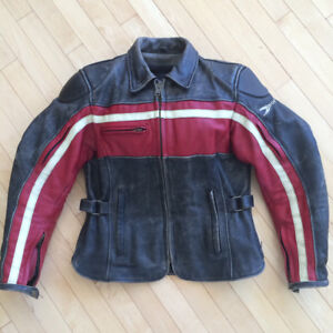 Ladies Leather Joe Rocket Motorcycle Jacket
