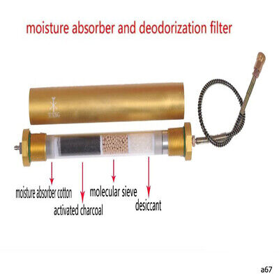 Air Compressor 4500 Psi Oil Water Seperator Moisture Absord Deodorization Filter