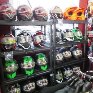 Good Selection Of Snowmobile Helmets  RE-GEAR Oshawa