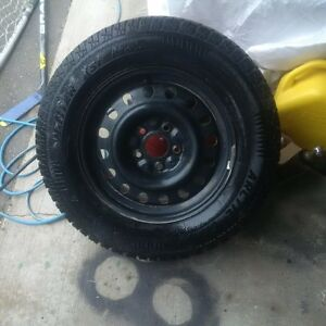 Jeep Grand Cherokee winter tires and rims