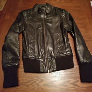 DANIER LEATHER Woman's XS jacket