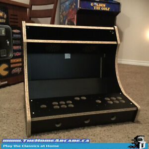 Home Arcade Bartop Kit w/ Free RetroPie Arcade/Console Software