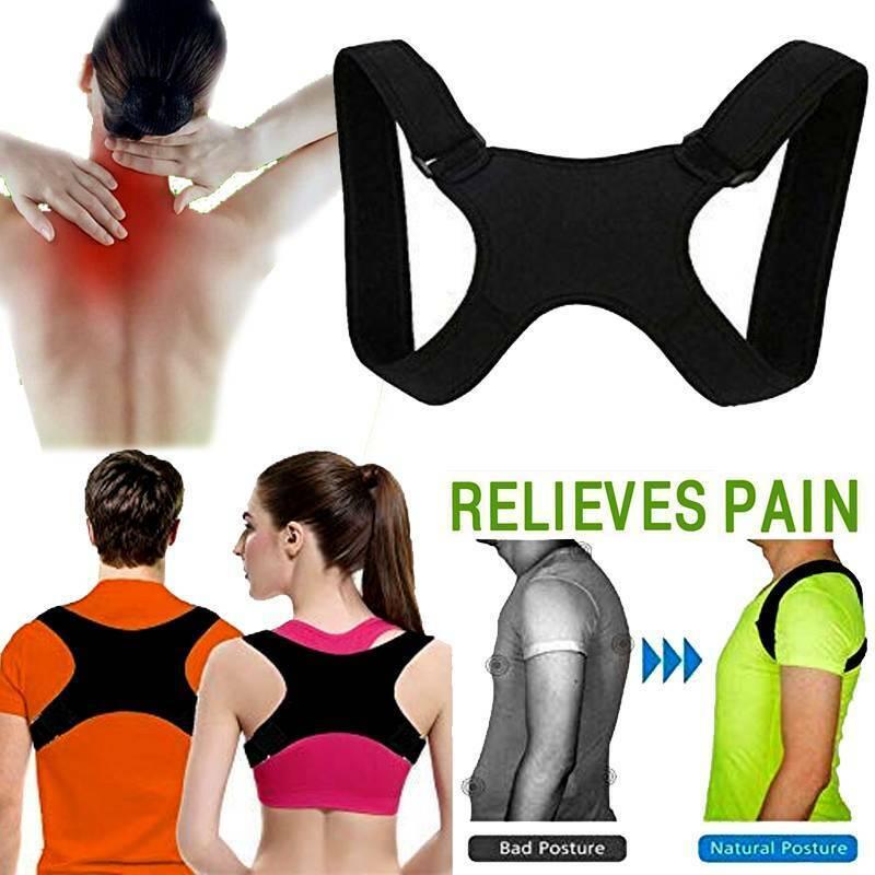 Back Posture Correction Shoulder Corrector Support Brace Bel
