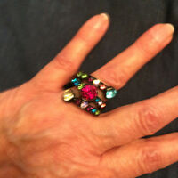 Gem Ring-stretchy