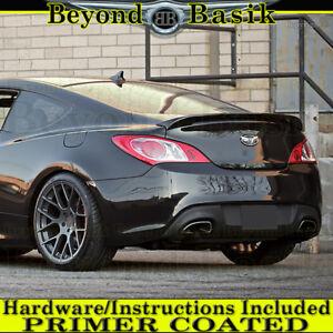 Fits 2010-2016 Hyundai Genesis Coupe Custom Style Lip Spoiler Wing PRIMER COATED