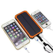 Portable Solar iPhone and Device Charger, 50,000mAh Adelaide Region Preview