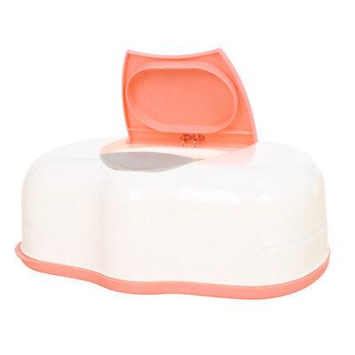 Tissue Case Baby Wipes Box Wet Tissue Care Accessories Press Pop-up Design X8N4