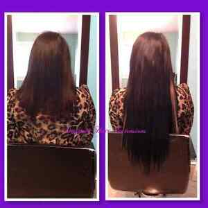 Fusion Hair Extensions (High quality euro hair) Kitchener / Waterloo Kitchener Area image 2