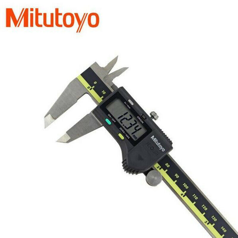 Battery Powered NEW Mitutoyo 500-753-20 Digital Calipers Stainless Steel