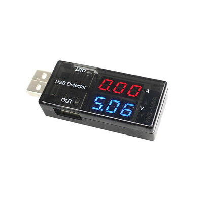 Digital Micro Usb Amp Volt Meter Charger Tester Current Detector Voltage Output