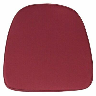 Fabric Chiavari Chair Cushion in Burgundy