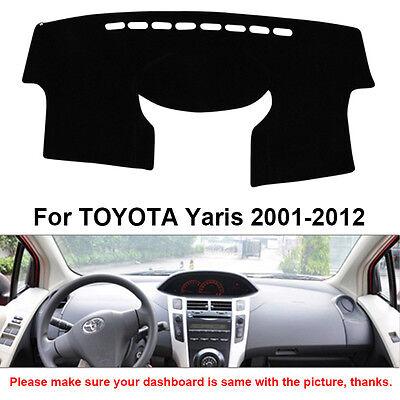 Dashmat Car Dashboard Mat Carpet Sun Shade Cover For TOYOTA Yaris 2001-2012 Year