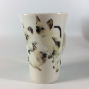 Adorable Kittens Design Fine Porcelain Mugs