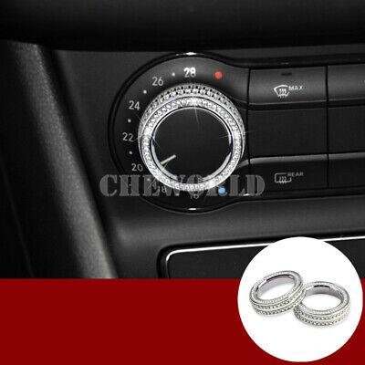 Mittelkonsole Klimaanlage Audio Knopf Abdeckung Für Benz GLE W166 C292 GLS X166