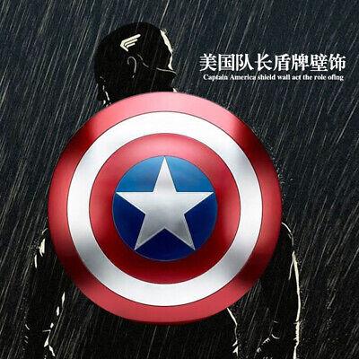 Avengers Captain America Metal Shield Iron Replica Bar Decoration Cosplay Props