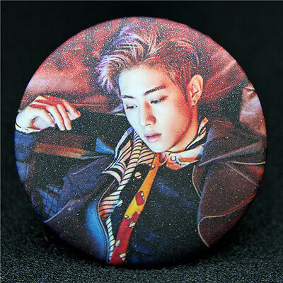 Fashion KPOP GOT7 Mark Badge Brooch Chest Pin Souvenir Gift