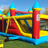 Bouncy castles, Zorb balls, Inflatables,