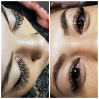 Eyelash extension $10 OFF for new set SE. Mahogany