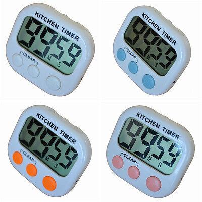 kurzzeitmesser magnetisch küchenwecker timer digital stoppuhr