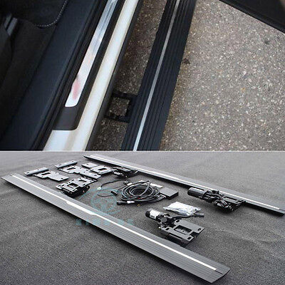 For Audi Q7 16-17 Power Electric Running Board Side Step Nerf Bars Welcome Pedal
