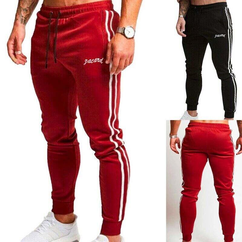 Long Sports  Pants Slim Fit Joggers Trousers Gym Sweatpants Casual  Men Running