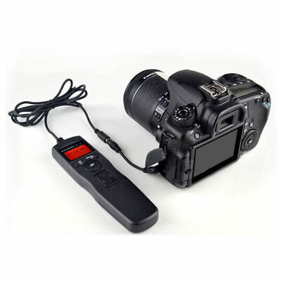 Time lapse intervalometer remote timer shutter for Canon 750D 700D 70D 650D 600D
