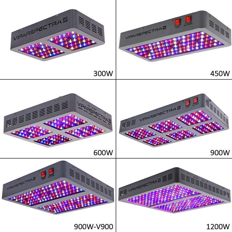 VIPARSPECTRA 300W 450W 600W 900W 1200W LED Grow Light Full S