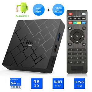 ANDROID TV BOX.  4GB/32GB ANDROID 8.1