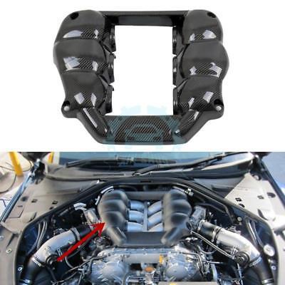 Carbon Fiber Car Engine Cover Hood Nacelle Trim For Nissan GTR GT-R R35 08-17 for sale  China