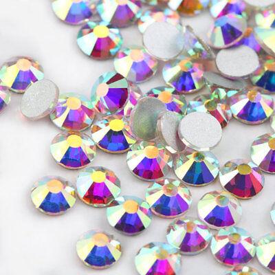 RUOSHAN  200pcs 4.8mm Shiny ab Rhinestones Crystal DIY Jewelry Nail Art (SS20) for sale  Shipping to Canada