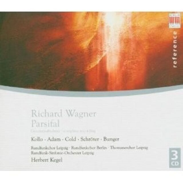 HERBERT/RSOL ADAM/KOLLO/SCHRÖTER//KEGEL - PARSIFAL (GA) 3 CD NEU
