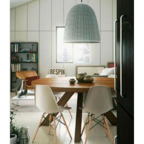 TSDTR 003 PO - Solid Wood Round Dining Table