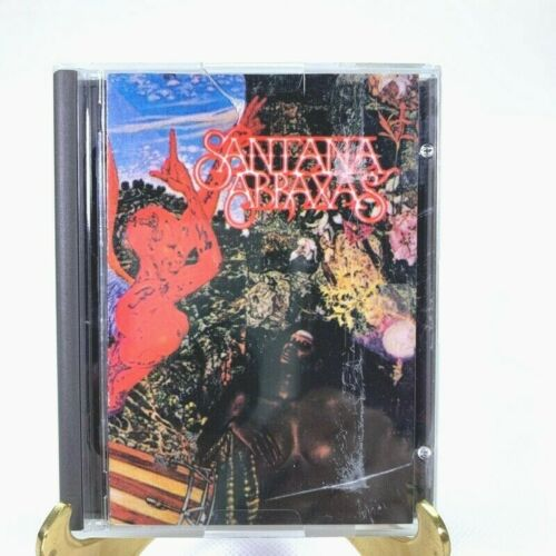 Santana Abraxas Music Album Columbia Mini Disc With Jewel Case Insert CM30130