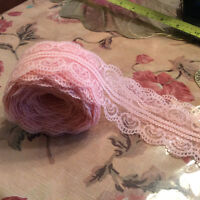 peach/pink bilateral lace 10 yards, wedding,home