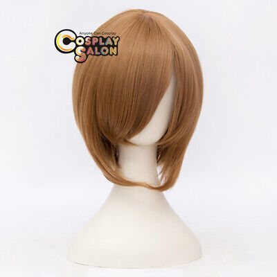 Anime for Death Note Yagami Halloween Brown Straight Heat Resistant Cosplay Wig
