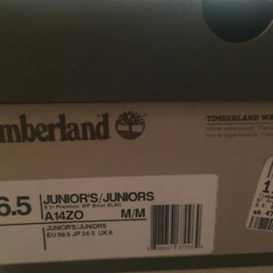 Timberland boots size 6.5us black
