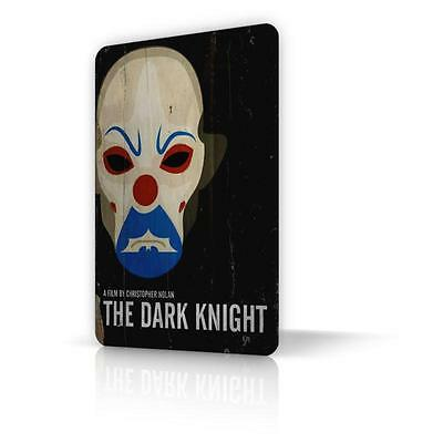 TIN SIGN The Dark Knight BATMAN Movie Poster Metal Decor Home Wall Clown
