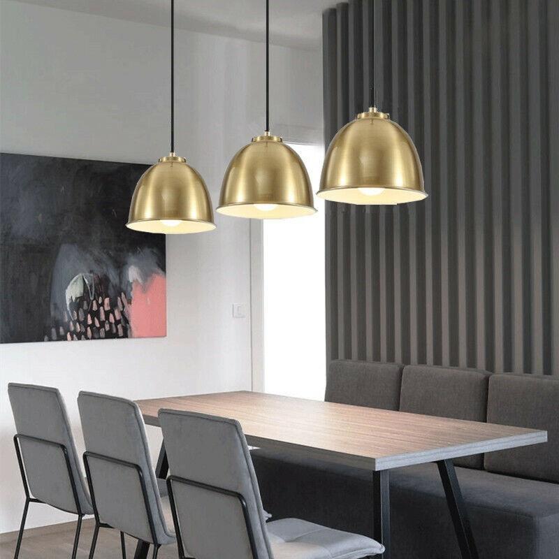 Bar Lamps Kitchen Pendant Light Golden Chandelier Lighting Bedroom
