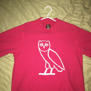 AUTHENTIC OVO SWEATSHIRT WITH STITCHED OWL