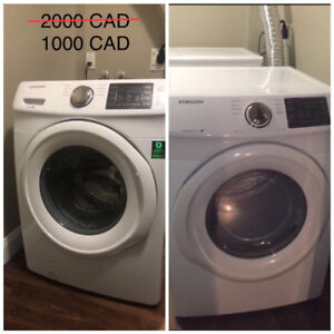 Washer and Dryer 50% off