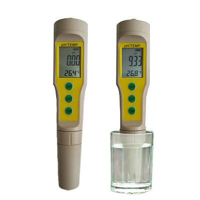 Digital LCD PH Meter Soil Aquarium Pool ...