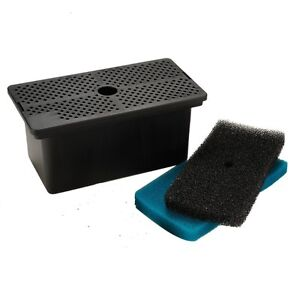 Pond Pre-Filter box with pads (Sunterra) + 1 pk replacement pads Cornwall Ontario image 1