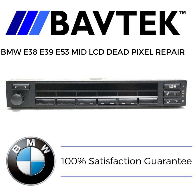 BMW E38 E39 E53 540i 750i X5 MID Multi Information LCD Dead Pixel Repair Service