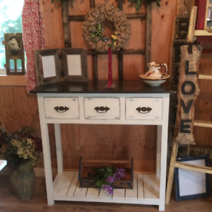 Rustic Entrance table (Country Pine Furniture)