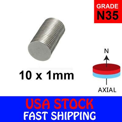 Super Strong N35 Round Disc Neodymium Mini Fridge Magnets Rare Earth New