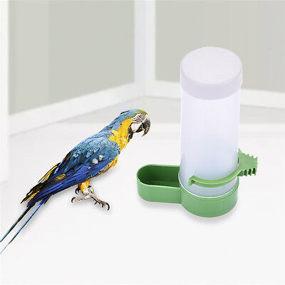 Automatic Pet Bird Parrot Food Water Feeder Drinking Bowl Bottle Dispenser 13CM