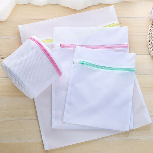 1Pc 3 Size Mesh Laundry Bags - Small Large Wash Bag for Bra