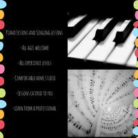 $20 - Piano and/or Singing Lessons