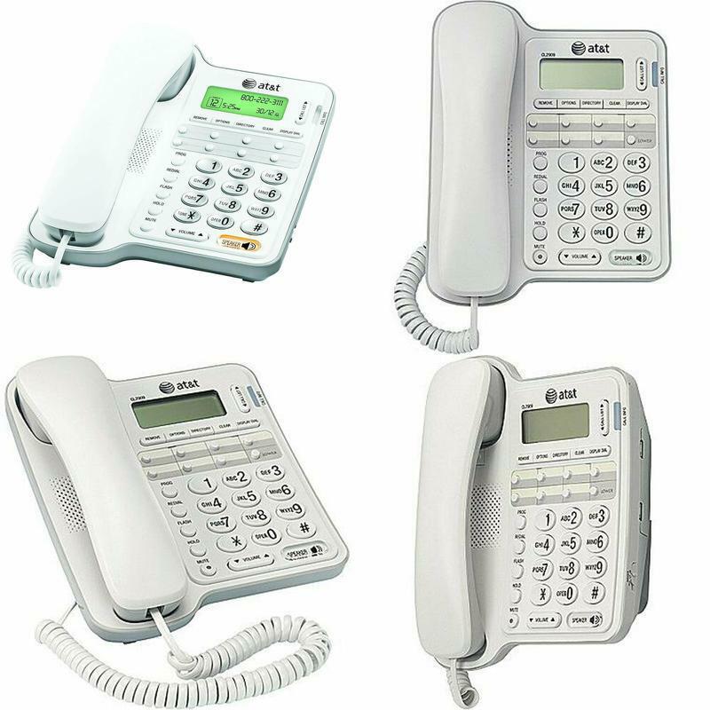att landline phone with answering machine